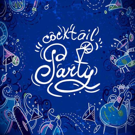 happy hours: Carte d'invitation � un cocktail