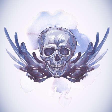morte: Fundo abstrato com cr
