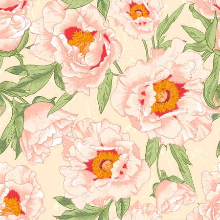 Mooie tropische naadloze bloem achtergrond Stockfoto - 30404330