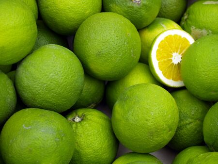 citric: limes Stock Photo