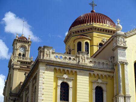 detail of greek church