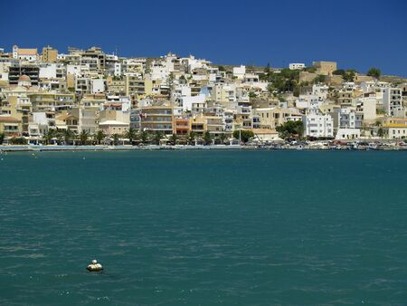 city of sitia Stock Photo