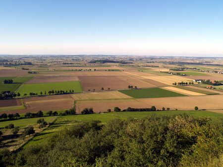 rural german landscape Stock Photo - 521465