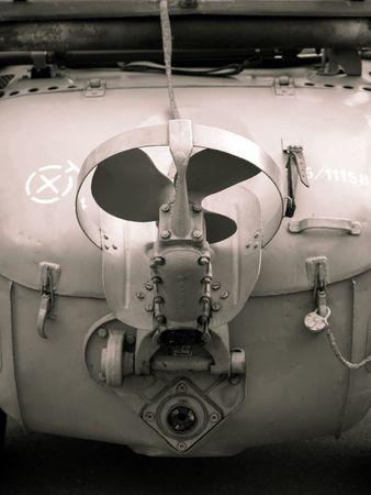 the amphibious: propeller of amphibious vehicle