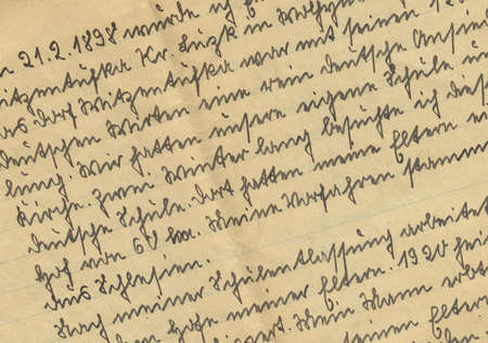 chronicle: vintage handwriting from family chronicle
