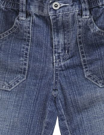 trouser: Detail of blue jeans trouser