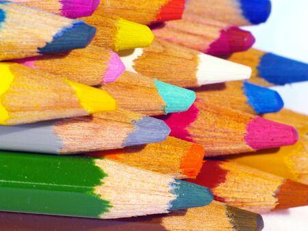 crayon peaks Banco de Imagens