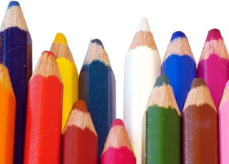 crayons, detail Banco de Imagens