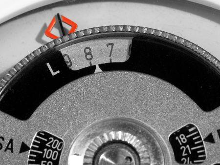 selenium: detail of old selenium photometer