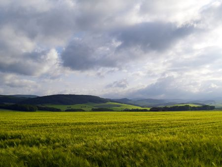 agrarian: agrarian landscape