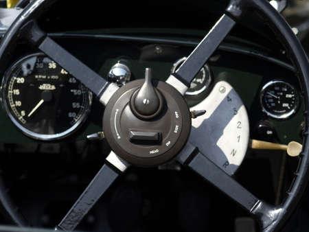cockpit of oldtimer Stock Photo - 1011179
