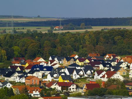 periphery: development area in suburban area
