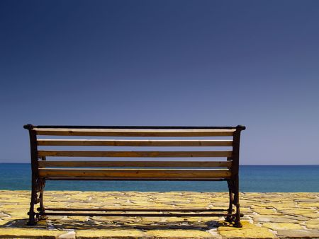 bench at the sea