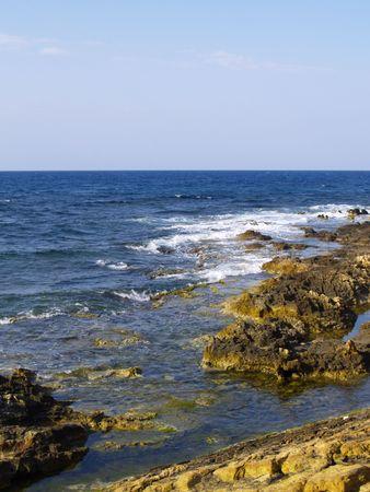 surge: surge on rocky coast