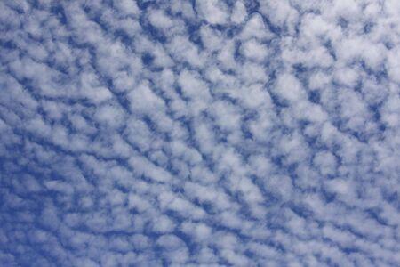 fleecy: fleecy clouds and blue sky