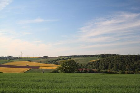 rural landscape near bad arolsen, hesse, germany Stock Photo - 10960602