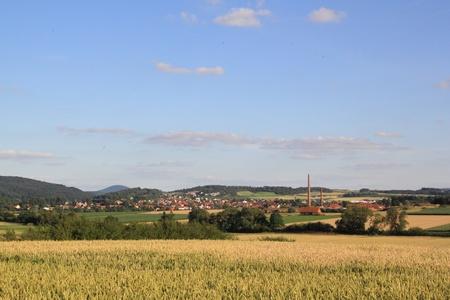 feld: nordhessische landschaft bei volkmarsen Stock Photo