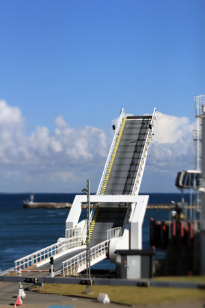 ferry terminal selective focus