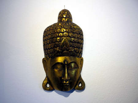 buddah: Buddah Mask Stock Photo
