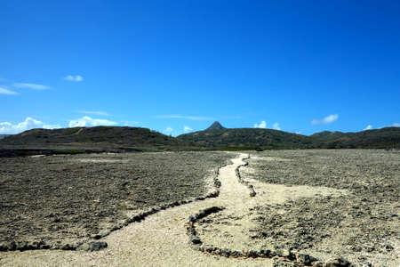 curacao: Mount christoffel curacao