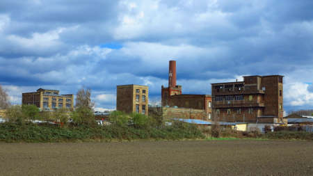 industrial heritage: factory ruin Stock Photo