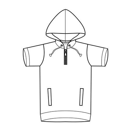 clothed: Clothes template Hoodie for kid
