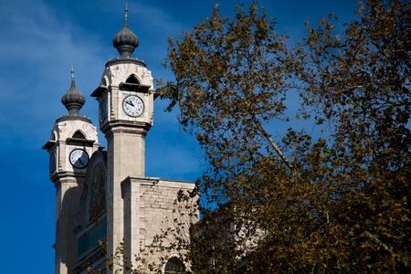 clocktower: old twist clock