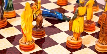 チェス 2 写真素材