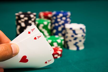 big slick: Aces and Chips