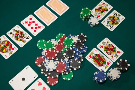 big slick: texas hold Editorial