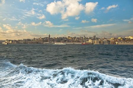 Bosphorus and Galata Tower photo