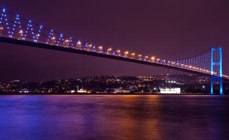 Bosphorus Bridge at the istanbul Turkey 6 免版税图像