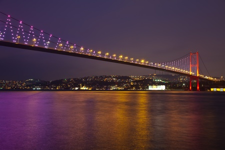 bosporus: Bosphorus Bridge at the istanbul Turkey 4