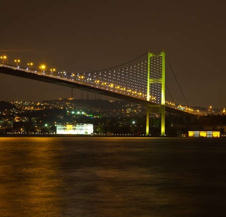 bosporus: Bosphorus Bridge at the istanbul Turkey