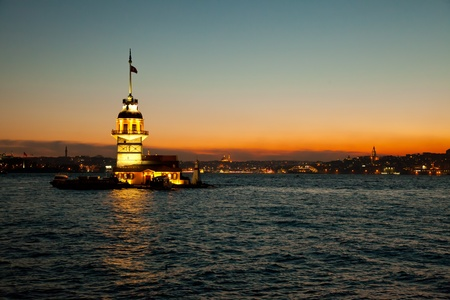 maiden tower at the istanbul turkey 2