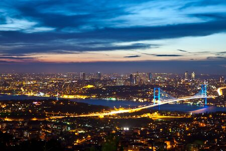 bosporus: Bosphorus Bridge at the night 3
