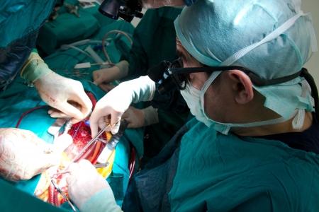 scene of an operation 1 免版税图像