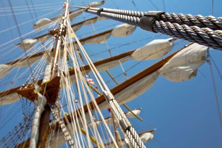 humbug: old sail ship 2 Stock Photo