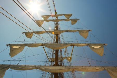 humbug: old sail ship