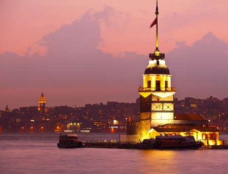 maiden tower at the istanbul turkey 3