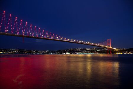 Bosporus Bridge at the istanbul Turkey