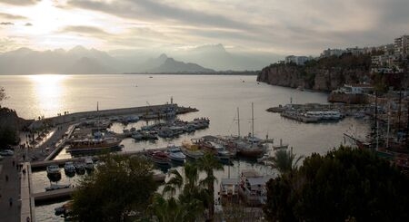 The old marina of  Antalya in  Turkey photo