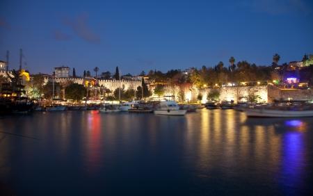 The old marina of  Antalya in  Turkey