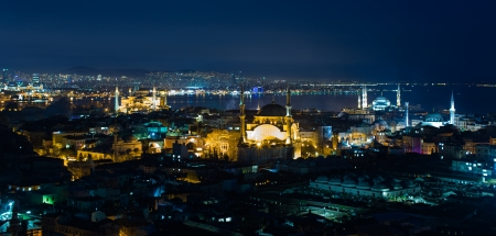 Istanbul city   8203;  8203;view at the night