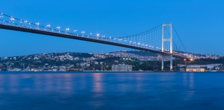 bosporus: Bosporus Bridge at istanbul Turkey
