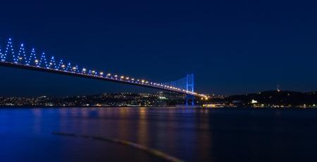 Bosporus Bridge at istanbul Turkey