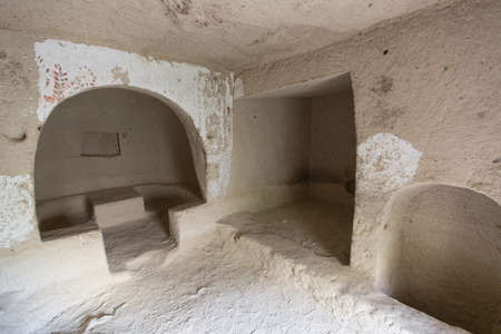cave house: casa grotta coperta in Cappadocia in Turchia