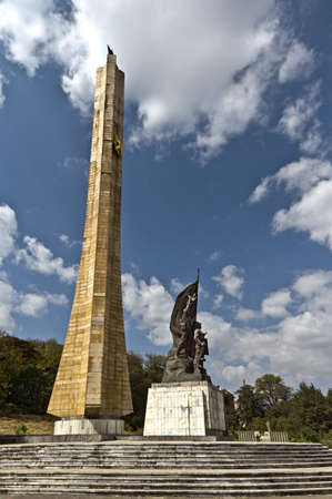 ababa: A monument erected by the Derg regime in honor of Ethiopian soldiers in Addis Ababa