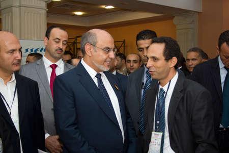 Hammamet – September 19: Mr Hamadi Jebali, Head of the Tunisian Government at the inauguration of the ICT4ALL Exibition held at the Congress and Exhibition Center of Medina-Hammamet in Yasmine Hammamet, Tunisia on September 19, 2012 Stock Photo - 15986261