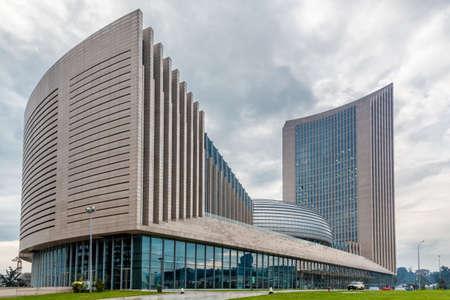 아디스 아바바, 에티오피아 새로운 아프리카 연합 (EU) 집행위원회 본부 건물